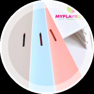 Расцветки растущего стульчика MYPLAYROOM™