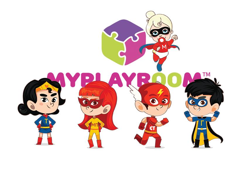 Уникальные персонажи из параллельной Вселенной MYPLAYROOM