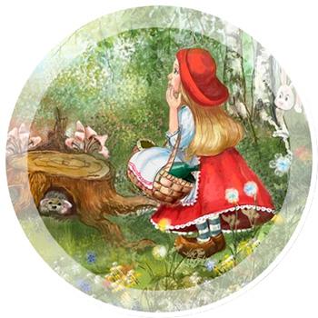 Сказка Красная шапочка.
