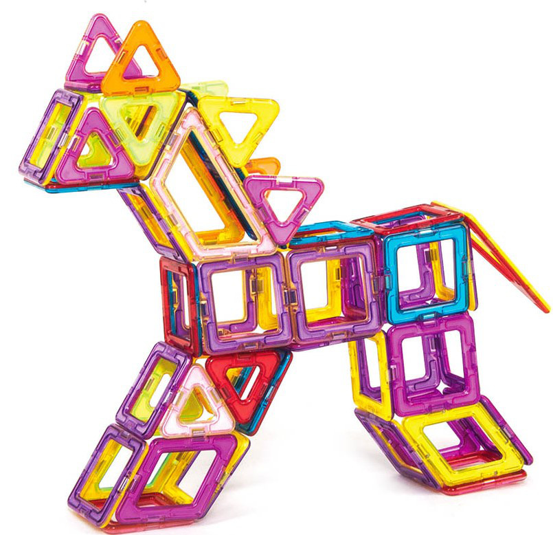 Лошадка магнитный конструктор.