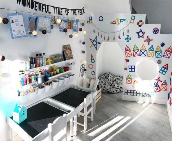 Фото детской игровой комнаты.