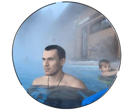 Закаливание в холодной воде