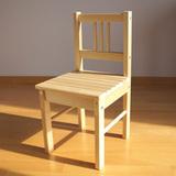 Детский деревянный стульчик 3