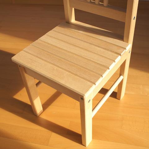 Детский деревянный стульчик 4