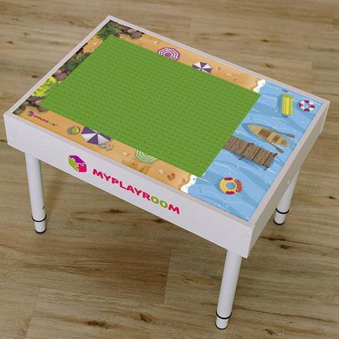 Домашняя песочница для LEGO MYPLAYROOM™ с длинной столешницей 8