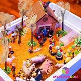 Домашняя песочница для LEGO MYPLAYROOM™ с длинной столешницей 5