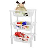 Этажерка-органайзер для игрушек, 3-х секционная 2