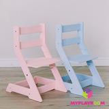 Растущий стульчик MYPLAYROOM™ к столу-песочнице, голубой 5