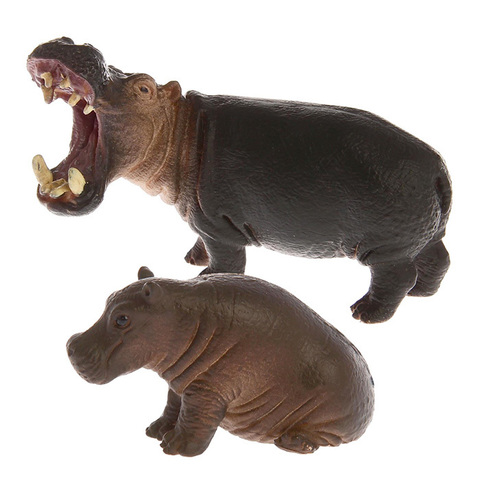 """Набор диких животных """"Бегемоты"""""""