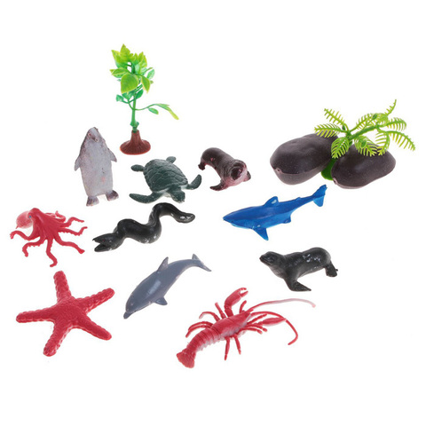 """Игровой набор """"Морские обитатели"""", 10 фигурок"""