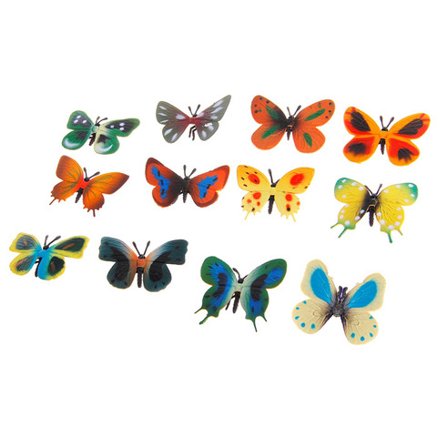 "Игровой набор ""Бабочки"", 12 фигурок"