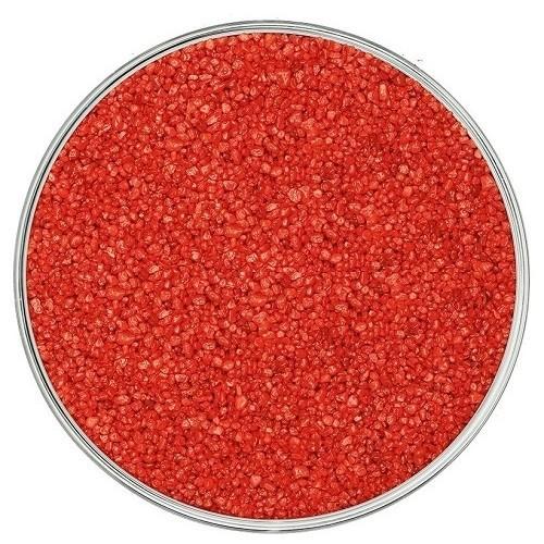 Кварцевый песок, красный