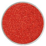 Кварцевый цветной песок, красный 1