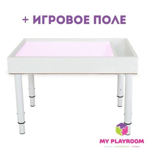 """Планшет для рисования песком Myplayroom """"Плюс"""" + ножки"""