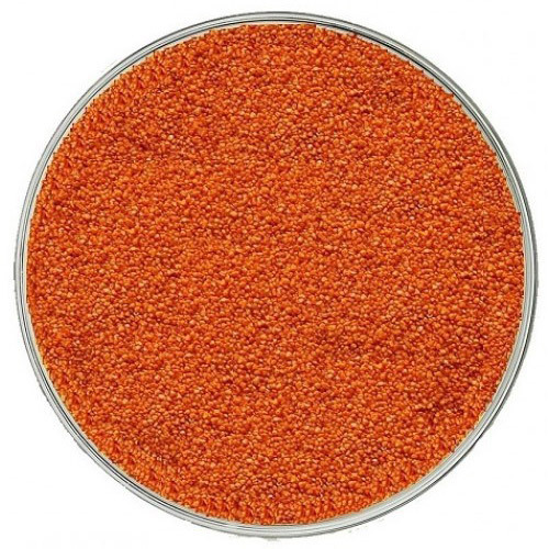 Кварцевый песок, оранжевый