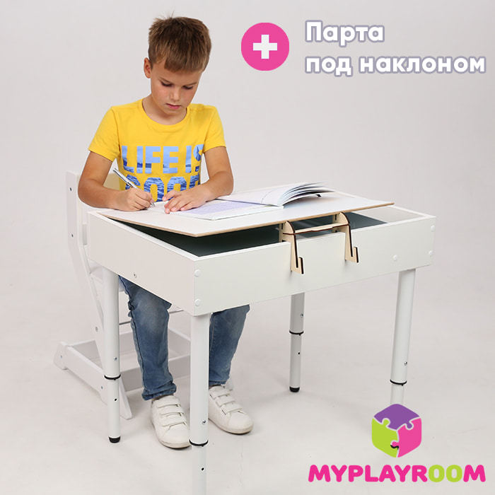 Использование столика для занятий