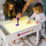 Световая песочница MYPLAYROOM™ с короткой столешницей 17