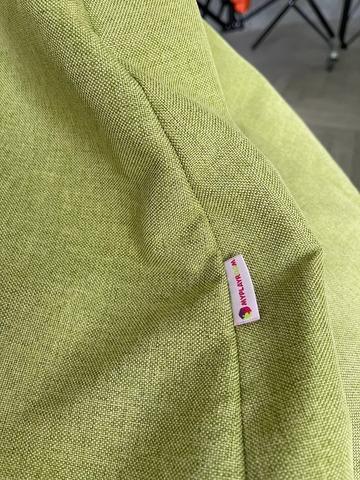 Детское мягкое бескаркасное кресло мешок, зелёное 2