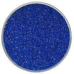 Кварцевый цветной песок, темно-синий