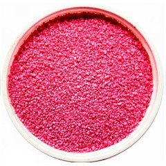 Кварцевый цветной песок, розовый