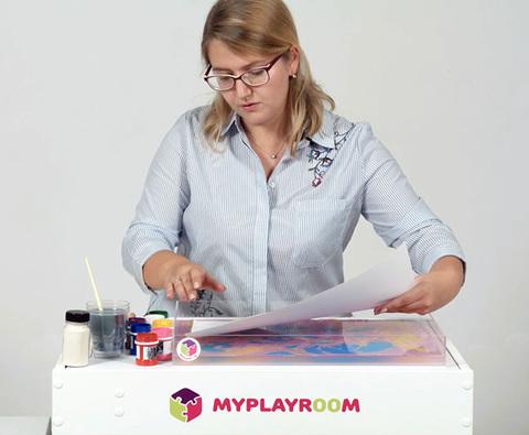 Уроки рисования на воде - Эбру 3