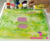 Уроки рисования на воде - Эбру 8