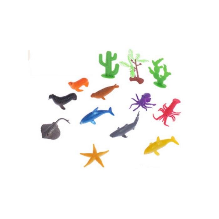 Набор морских животных