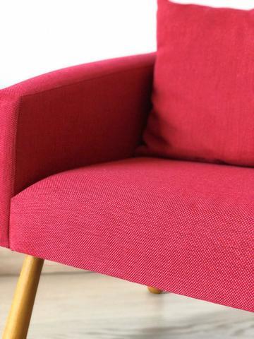 Детское мягкое кресло, красное 2