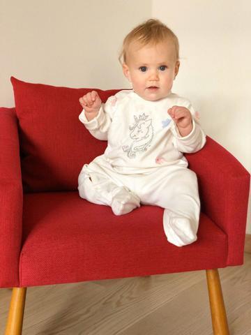Детское мягкое кресло, красное 3