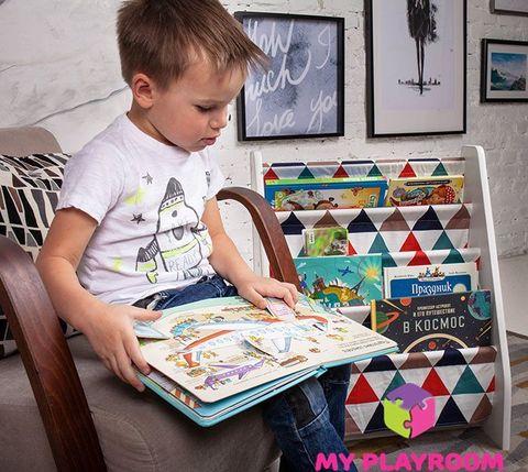 Детская полочка для книг в духе Монтессори 12
