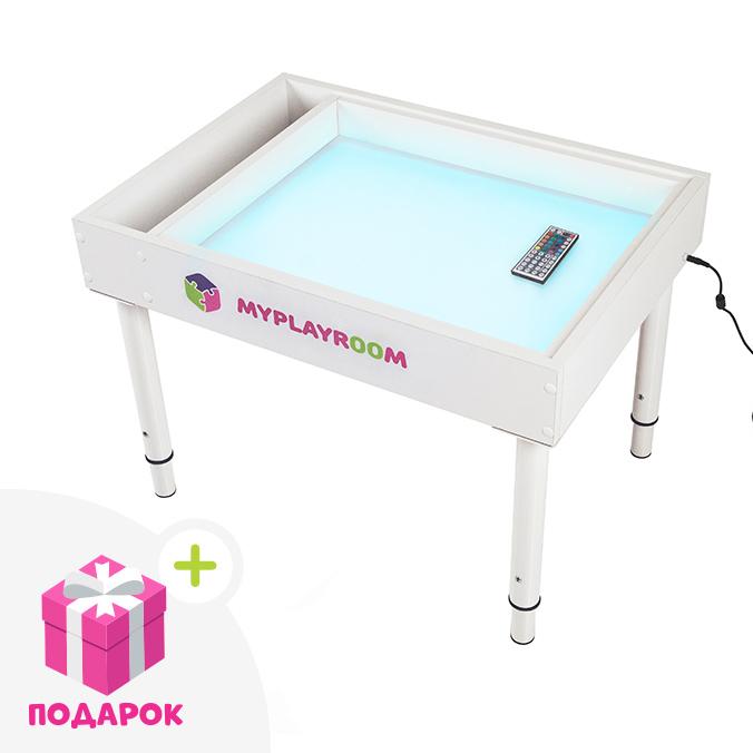 Светящийся стол для рисования песком Myplayroom
