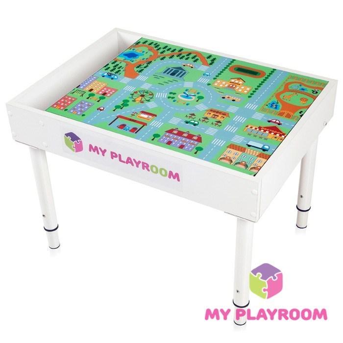 Универсальный игровой детский световой стол 6 в 1