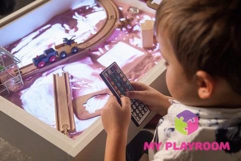 Световой стол для рисования песком Myplayroom 11