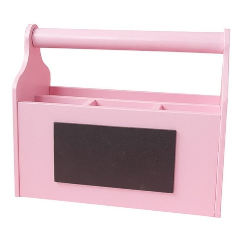 Карандашница большая розовая