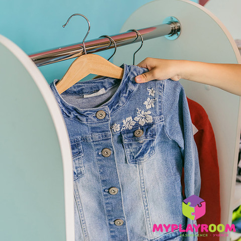 Детский гардероб в духе Монтессори 2