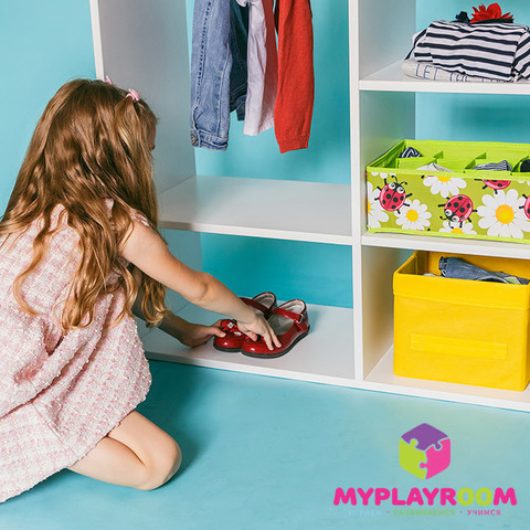 Детский гардероб в духе Монтессори 6