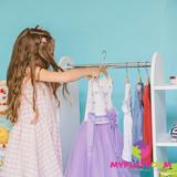 Детский гардероб в духе Монтессори 4