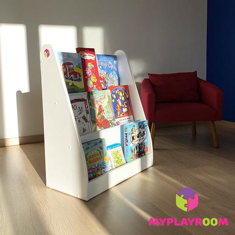 Детская полка для книг вместительная витрина по Монтессори 5