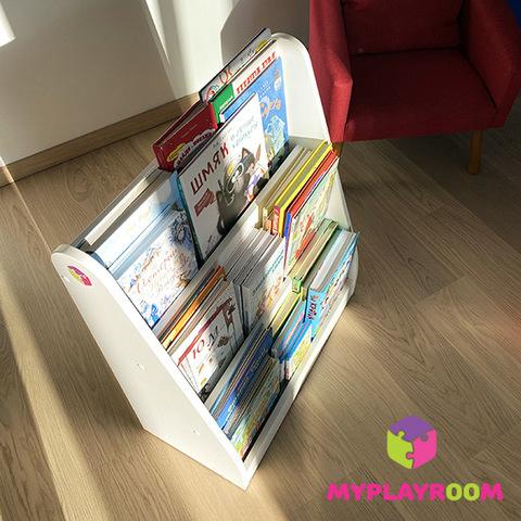 Детская полка для книг вместительная витрина по Монтессори 6
