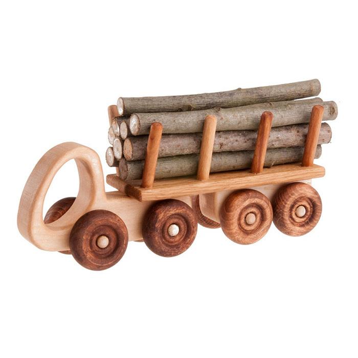 Деревянная машинка Лесовоз