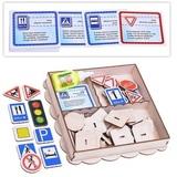 Набор дорожных знаков, с информационными карточками 5