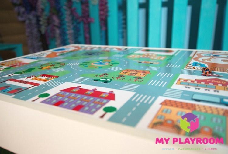 Домашняя песочница Myplayroom с крышкой подходит для занятий творчеством и игр