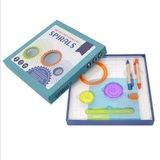 Детский спирограф для рисования, набор из 7 предметов 2