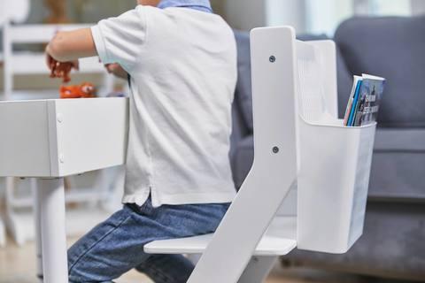 Растущий стульчик MYPLAYROOM™ к песочнице, белый 18