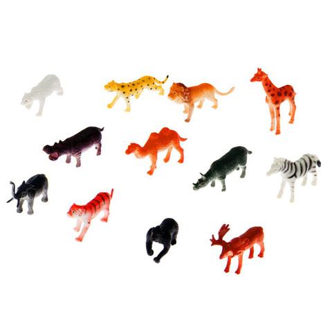 """Игровой набор """"Животные"""", 12 фигурок"""