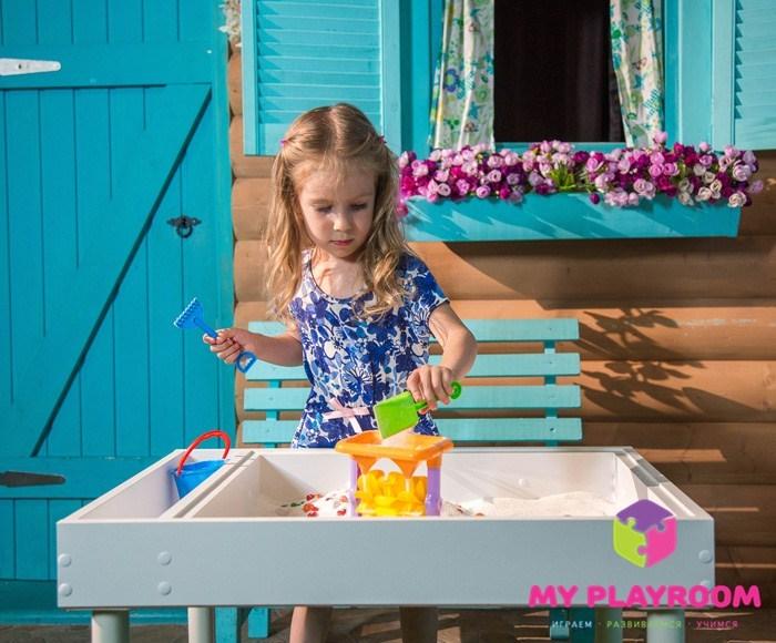 Домашняя песочница Myplayroom Плюс с ножками
