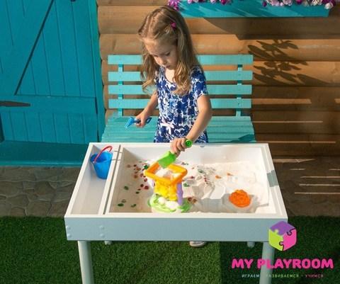 Домашняя песочница MYPLAYROOM™ 4в1 13