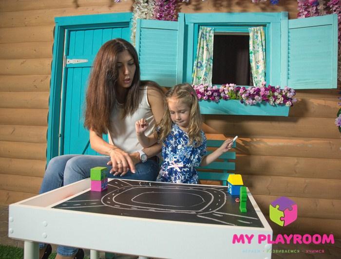 Купить доску для рисования на домашнюю песочницу myplayroom