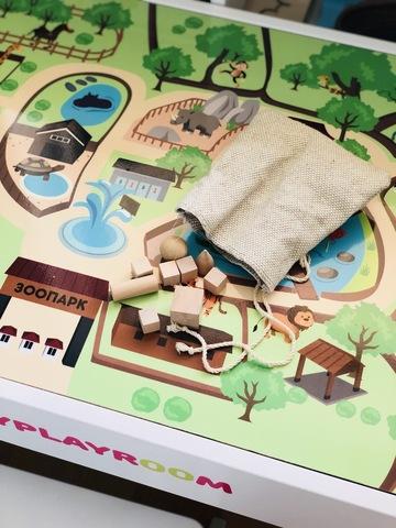 Геометрические фигуры из дерева, 14 предметов 3