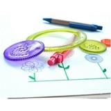 Детский спирограф для рисования, набор из 7 предметов 1